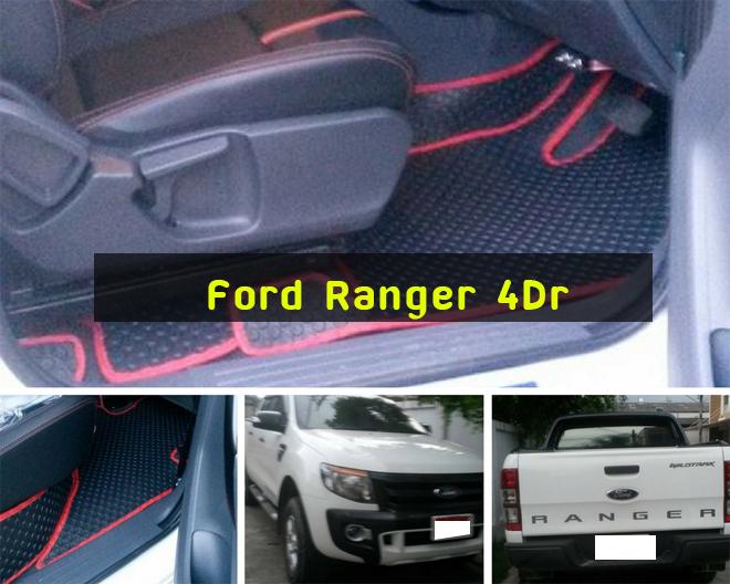 Ford Ranger 4Dr กระดุมดำขอบแดง