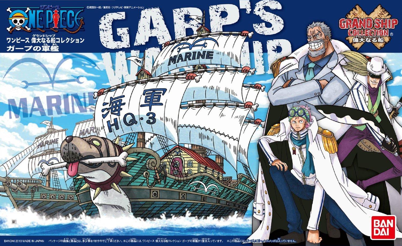 Garp's Warship ของแท้ JP แมวทอง - Bandai Grand Ship Collection [โมเดลเรือวันพีช]
