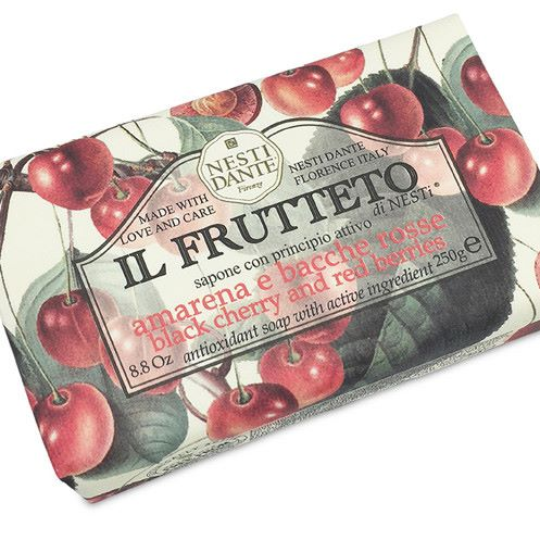 Nesti Dante Black Cherry & Red Berries Soap (250g)