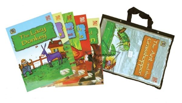 SKF-15 หนังสือ Big Book Famous Fables ชุด 1 (ชุดละ 6 เล่ม)