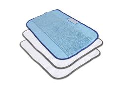 ผ้าถูพื้นชนิดเปียก 1 ชิ้น แห้ง 2 ชิ้น สำหรับ iRobot Braava 300 Microfibre cloth 3-pack,MIXED 2 dry & 1 wet