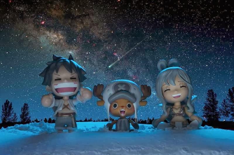 Negai be.smile ของแท้ JP แมวทอง - Besmile Bandai [โมเดลวันพีช] (Rare) 3 ตัว