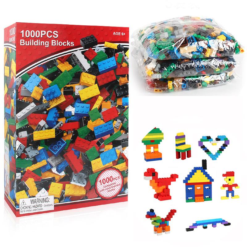 เลโก้จีน เลโก้อิสระ 1000 ชิ้น ส่งฟรีพัสดุไปษณีย์