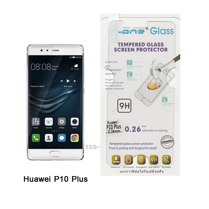 P-one ฟิล์มกระจก Huawei P10 Plus