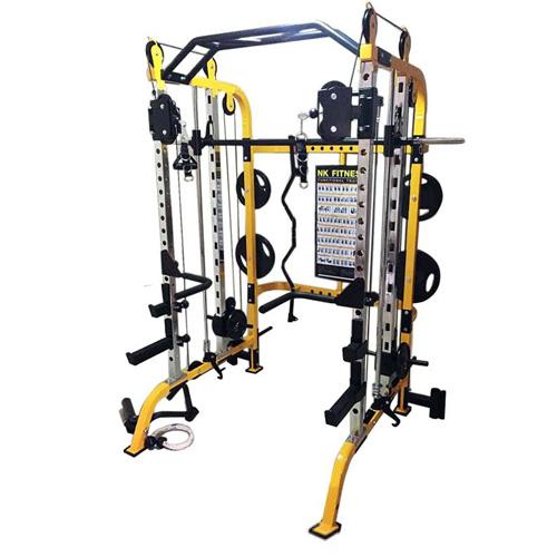อุปกรณ์ยกน้ำหนัก : Power Smith Machine & Cable Crossover - NK9000