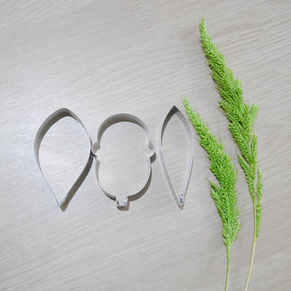 พิมพ์ตัด ดอกแคททลียาปากแตร l (C. warscewiczii l cutter)