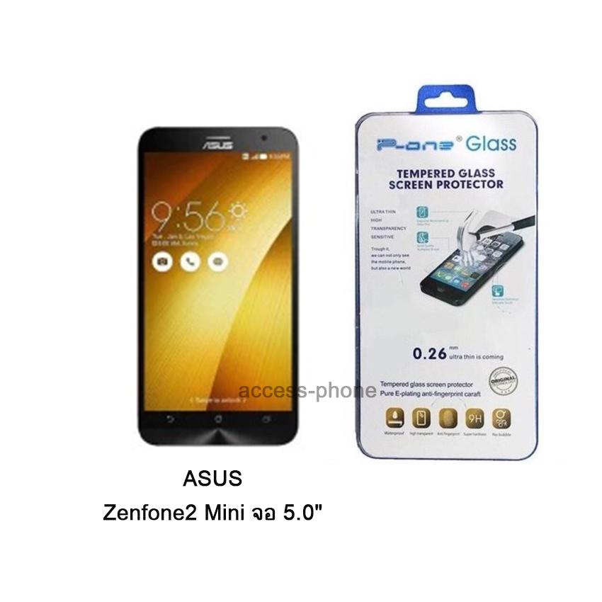 "P-one ฟิล์มกระจก ASUS ZenFone2 Mini จอ 5.0 """