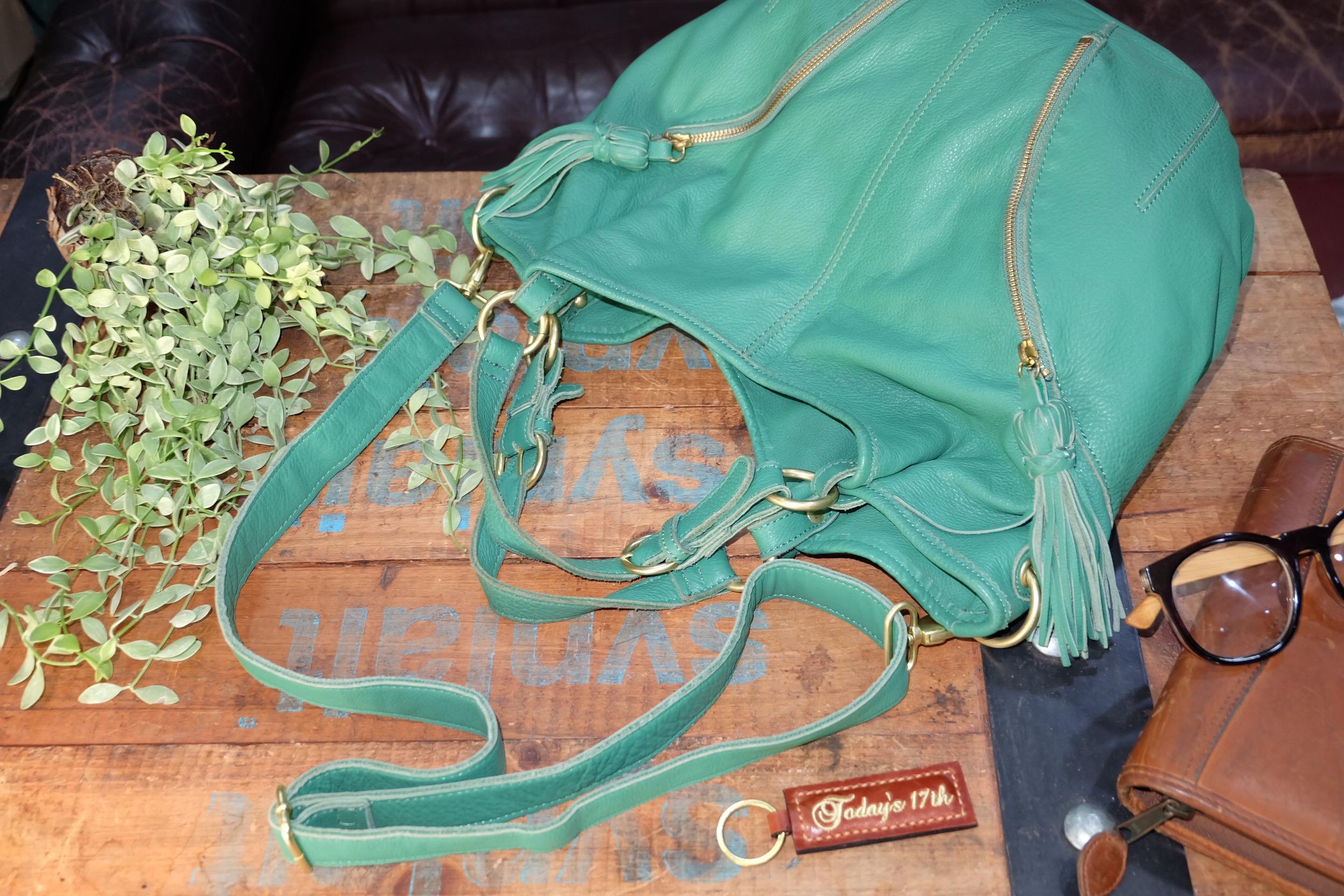 กระเป๋าหนังแท้สะพายไหล่/ข้าง
