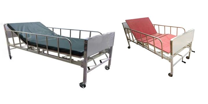 PS3 เตียงผู้ป่วย 2 ไกร์ (พื้นไม้) สเปกโรงพยาบาล