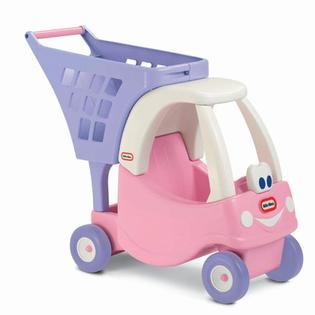 รถเข็น Little Tikes Princess Cozy Shopping Cart Pink/Purple สีชมพู ม่วง