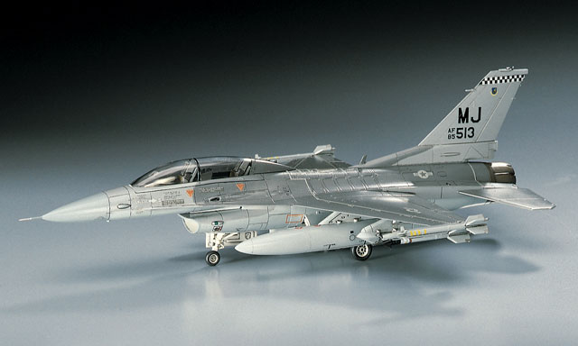 1/72 USAF F-16D Fighting Falcon by Hasegawa (HA00445)
