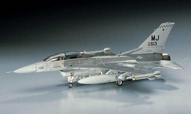 1/72 USAF F-16D Fighting Falcon by Hasegawa (HA00445)