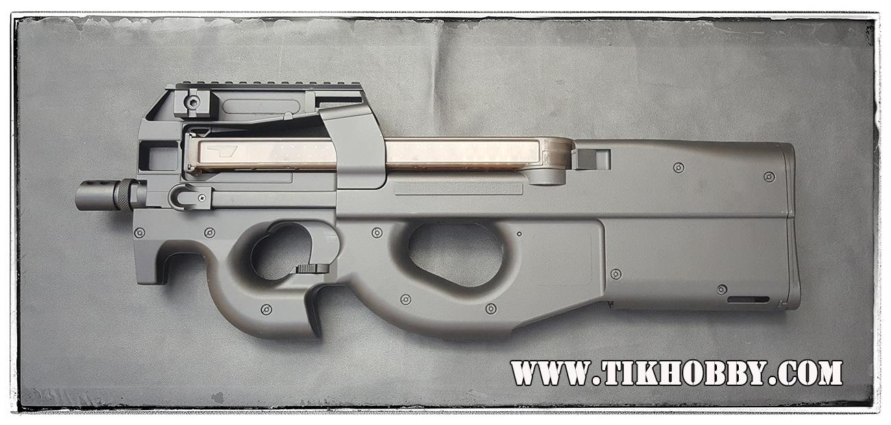ปืนอัดลมไฟฟ้า P90 จาก Cyma