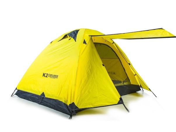 K2 Explorer สีเหลือง (นอน 2 - 3 คน)