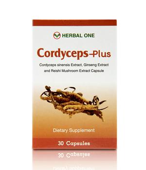ตังถั่งเช่าพลัส Cordyceps-Plus (Herbal One) 30 แคปซูล