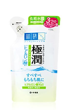 Hada Labo Hyaluronic acid moisturizing lotion (ทำในญี่ปุ่น) ฮาดะ ลาโบะ โลชั่น สีขาวแถบเขียว แบบถุงรีฟิล 70มล.บำรุงผิวหน้าให้ชุ่มขื่นสุดๆ หน้าเนียนสดใส
