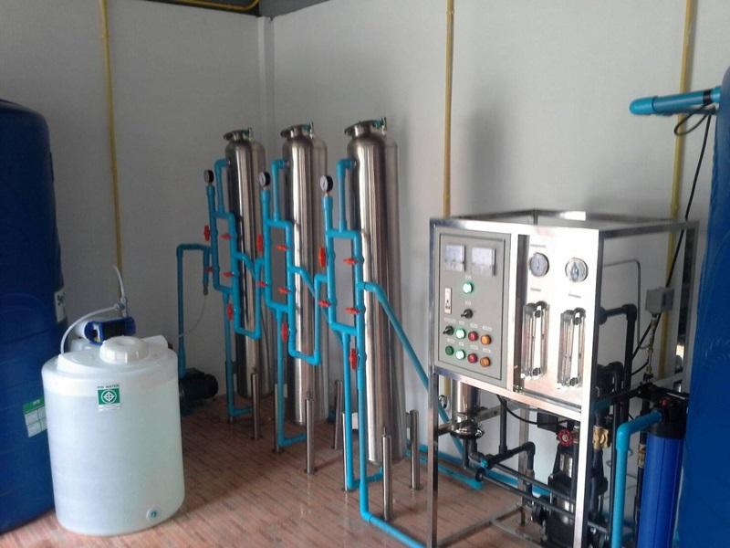 เครื่องกรองน้ำ R.Oอุตสาหกรรม อัตรากำลังการผลิต 6,000 ลิตรต่อวัน