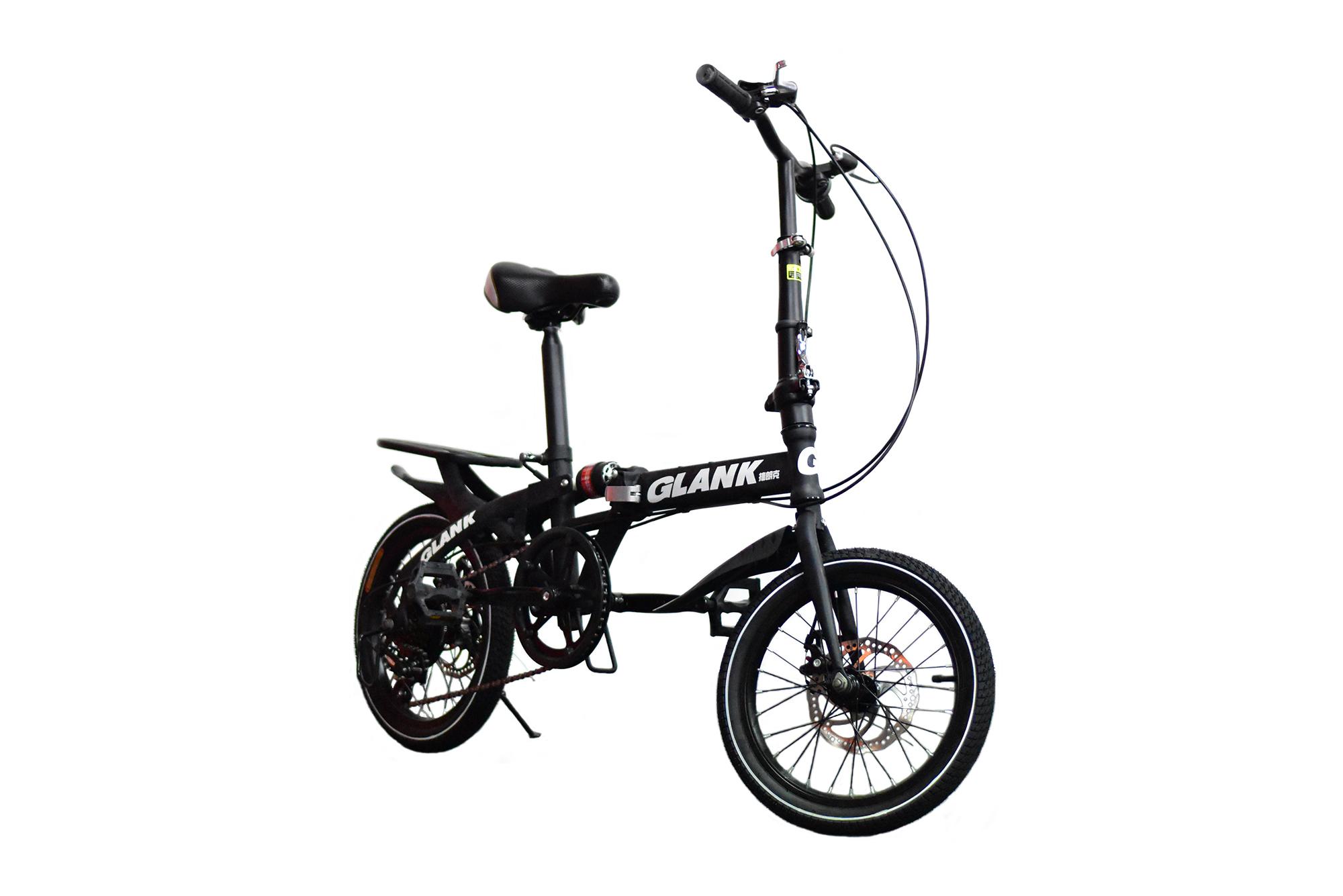 จักรยานพับได้ GLANK สีดำ