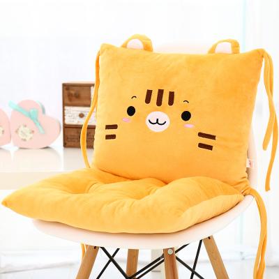 เบาะรองนั่ง ลายเจ้าเสือน้อยหน้ามึน สีส้ม