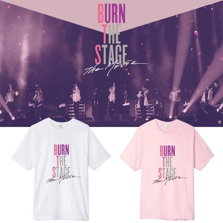 เสื้อยืด BTS Burn the Stage The Movie