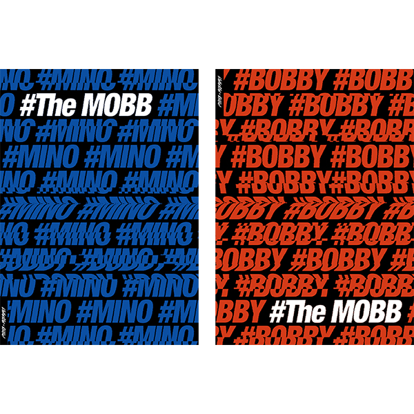 MOBB Debut Mini Album Vol.1 [The MOBB] หน้าปก Mino Ver.