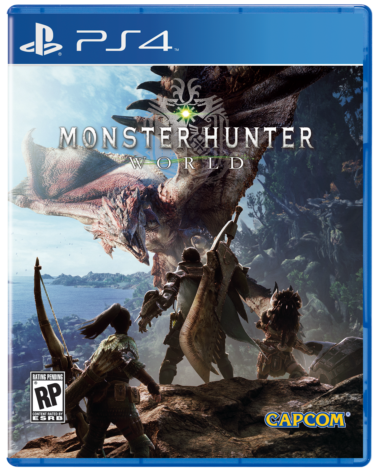 [PS4] MONSTER HUNTER WORLD [R3][EN]