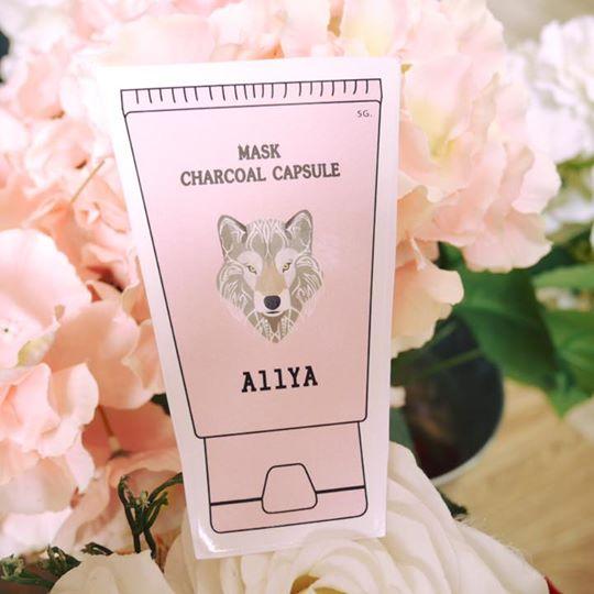 AllYA Mask Charcoal Capsule 1 ซอง