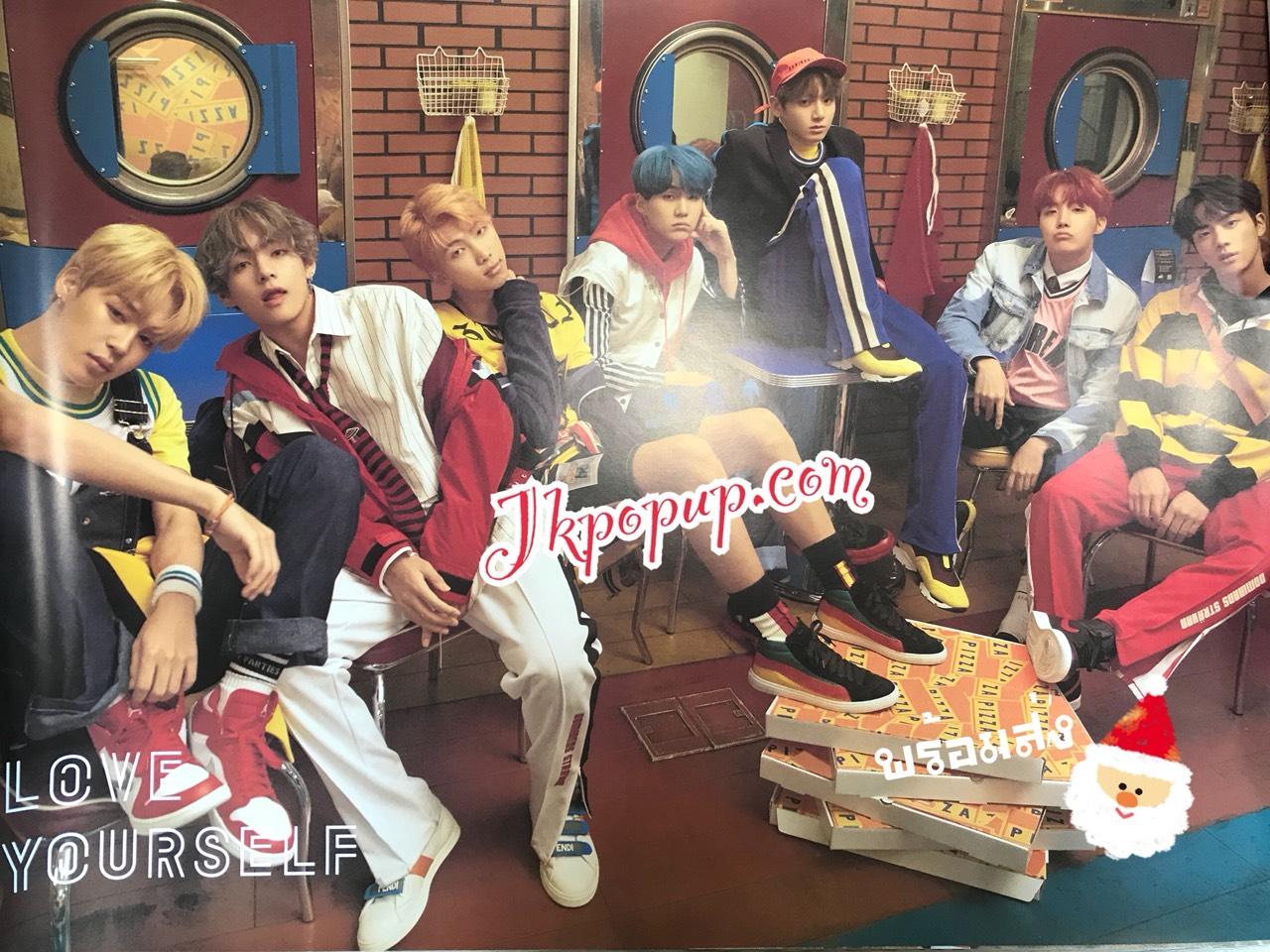 BTS - Mini Album Vol.5 [LOVE YOURSELF 承 Her] โปสเตอร์ แบบที่ 2 พร้อมกระบอกโปสเตอร์ พร้อมส่ง