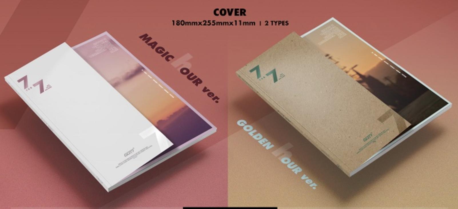GOT7 - Album [7 for 7] หน้าปกสุ่ม