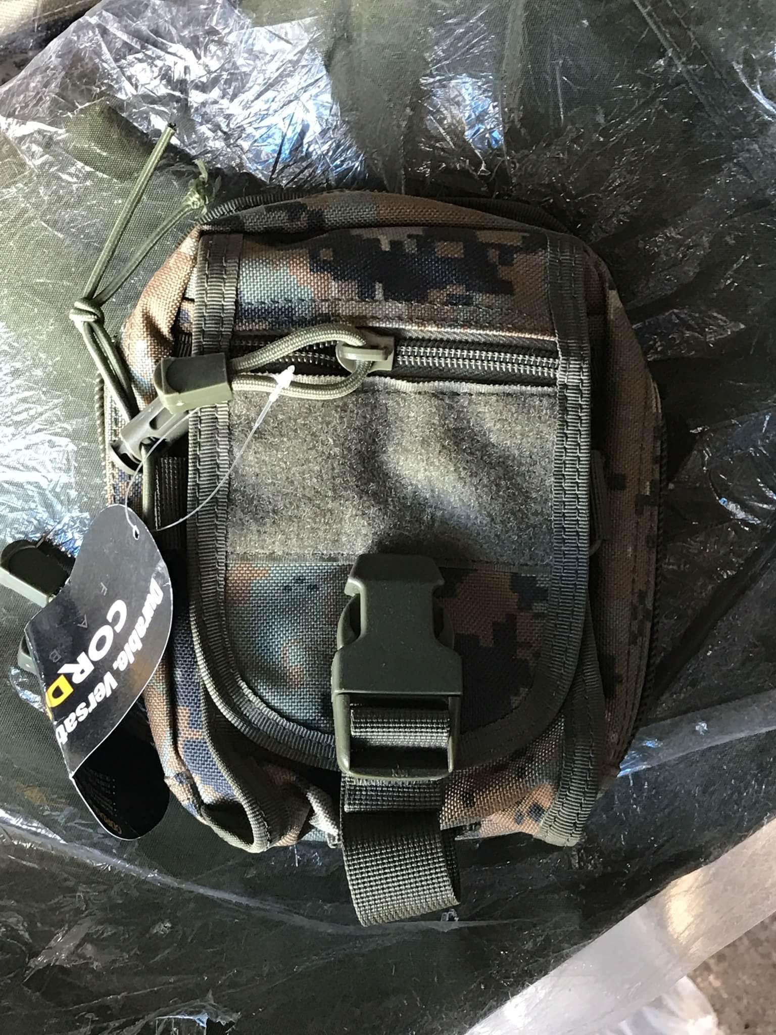 กระเป๋าลายทหาร CORDURA FABRIC