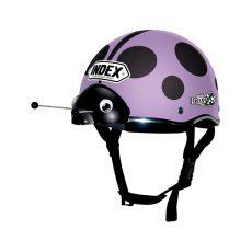 หมวกกันน็อคเด็ก INDEX รุ่น Lady Bug Violet