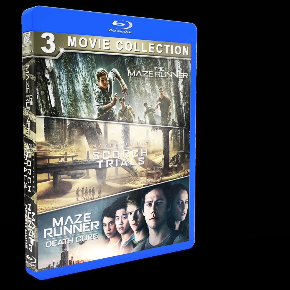 *U1804 - The Maze Runner (1-3) BOXSET 3 แผ่น กล่องเดียว