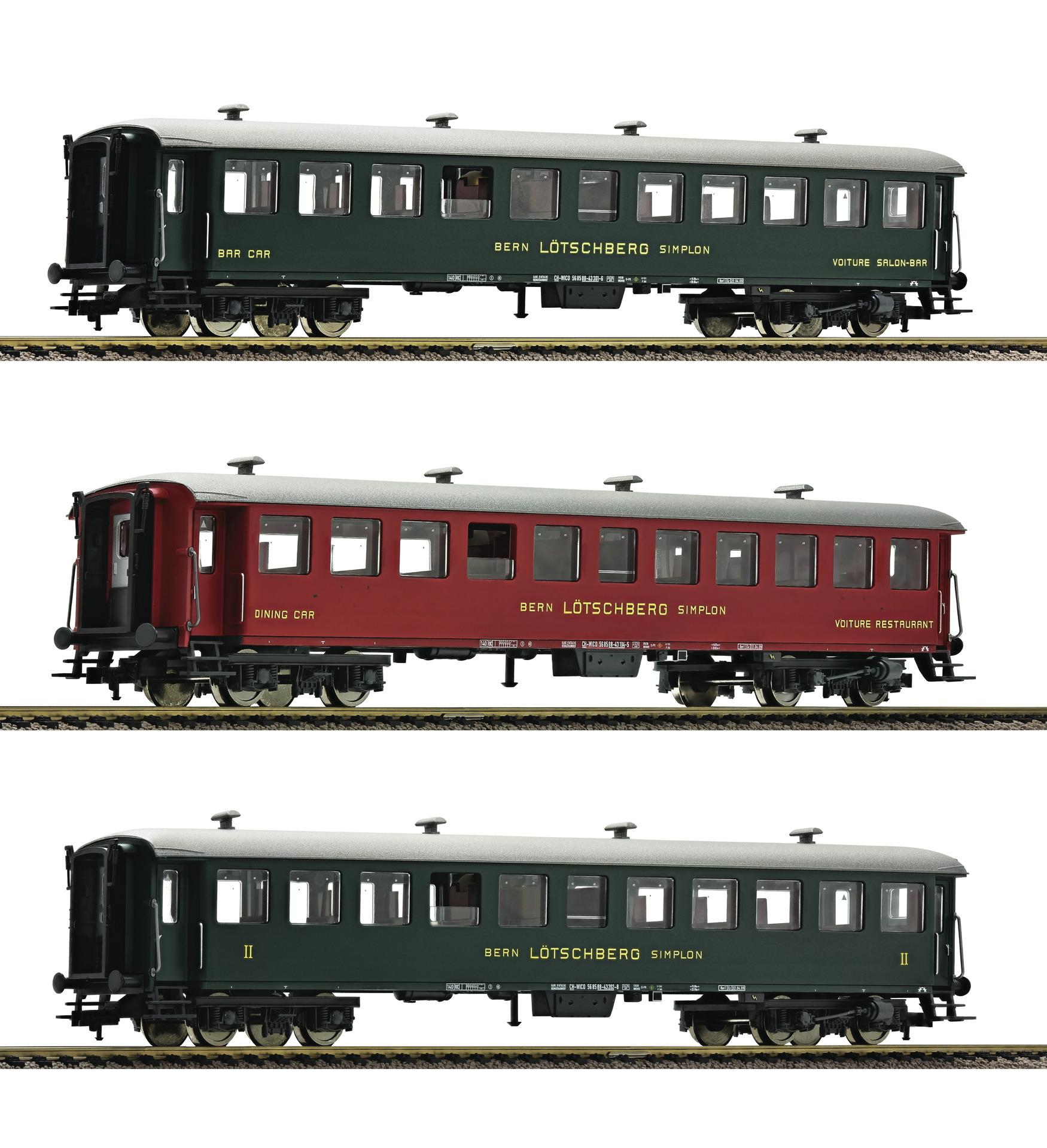 FLM513602 Swiss passenger 3 car set