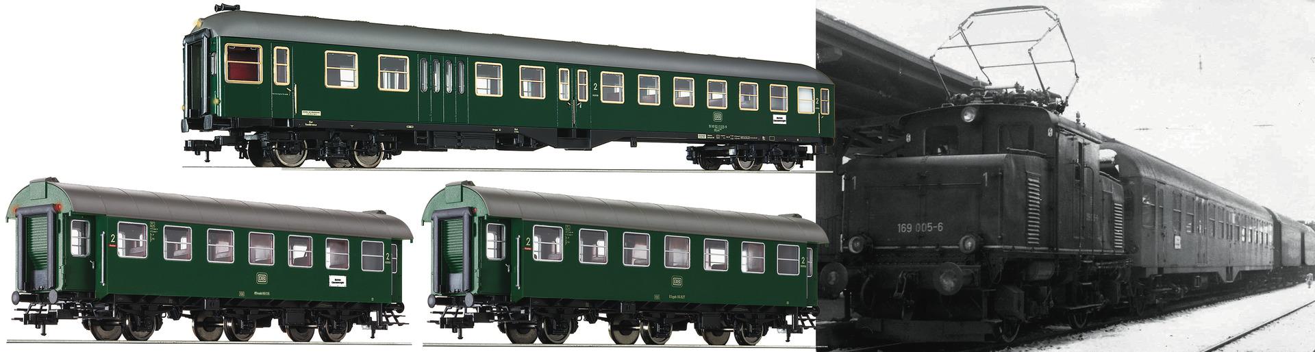 FLM566484 DB coach 3 car set