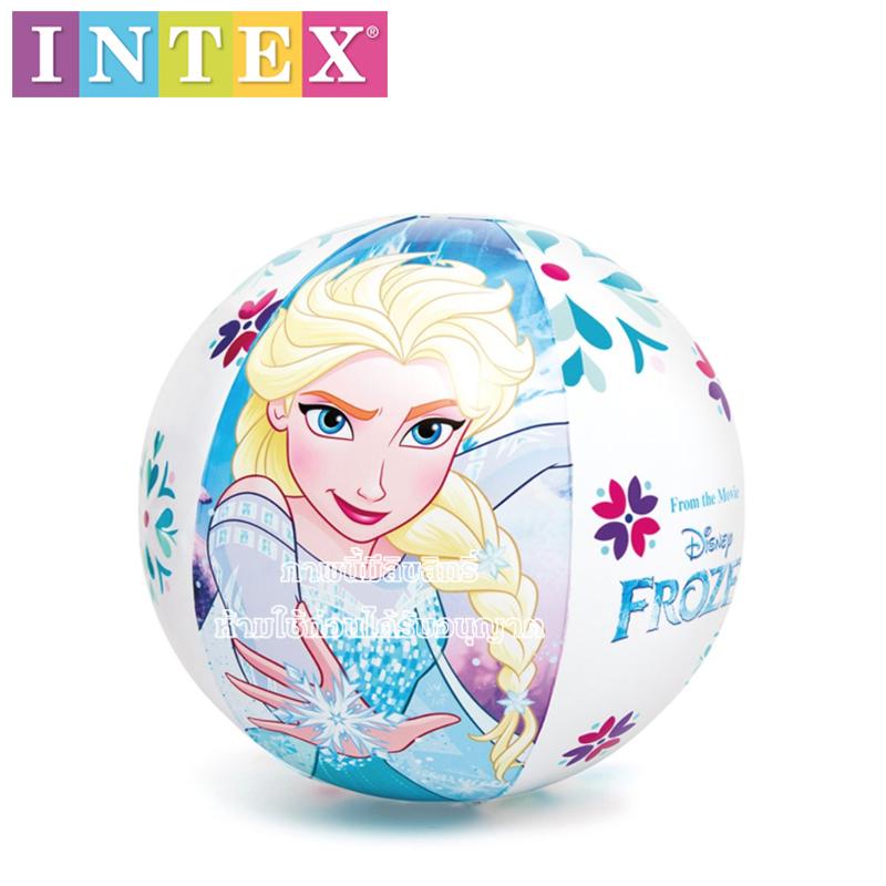 Intex ลูกบอลชายหาด Frozen 20 นิ้ว [Intex-58021]