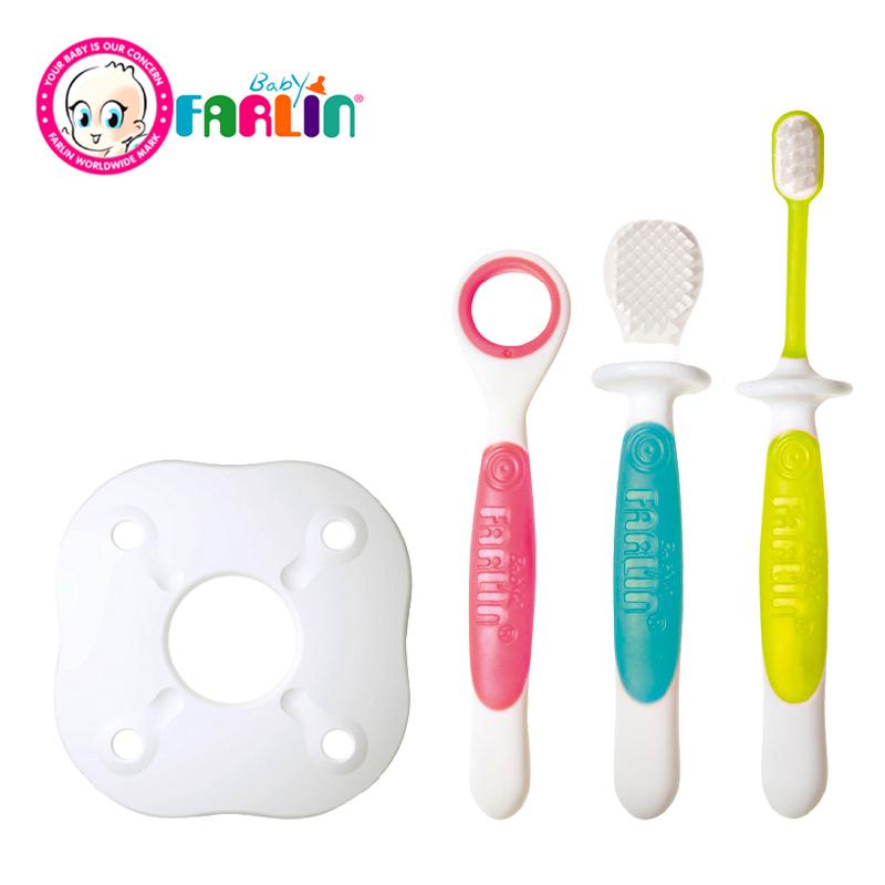 ชุดแปรงสีฟันเด็ก 3 Step Farlin