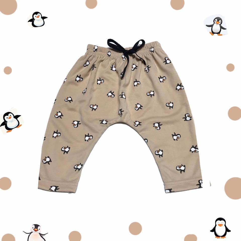 กางเกงก้นป่องลายเพนกวิน