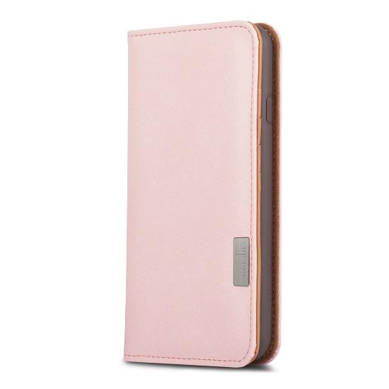 เคสซองหนัง Moshi Overture iPhone7 Case (Wallet Case) - สีชมพู