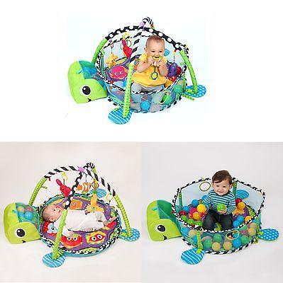 สุดคุ้ม ของแท้ เล่นได้ตั้งแต่แบเบาะ Grow-With-Me Activity Gym & Ball Pit™ ยี่ห้อ Infantino เป็นทั้ง Play Gym และ บ่อบอล สำหรับเด็ก แถมลูกบอล 40 ลูก (ดูภาพและคลิปวีดีโอนะคะ)