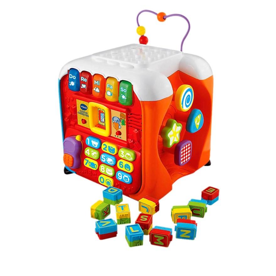 กล่องกิจกรรม Vtech Alphabet Infant Discovery Fun Activity Cube