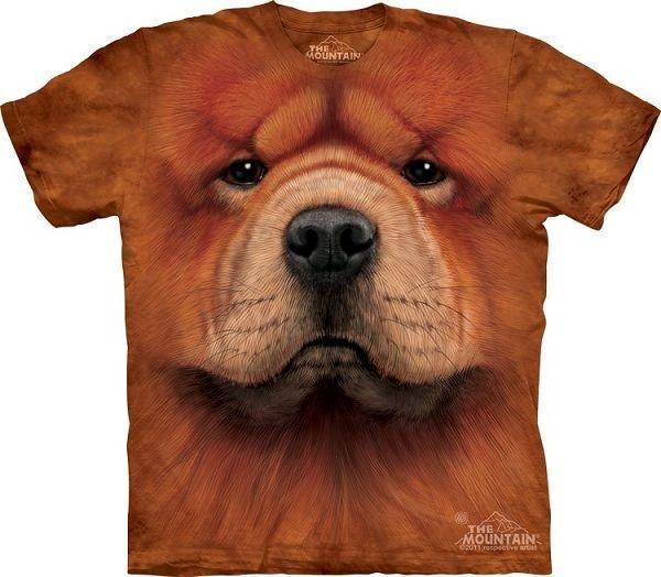 Big Face Chow Chow Dog Face T-Shirts