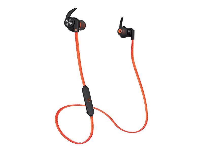 หูฟัง Creative Outlier Sports Bluetooth สีOrange