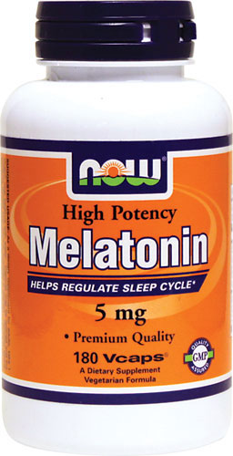 Now Foods - Melatonin 5 mg 180 Capsules