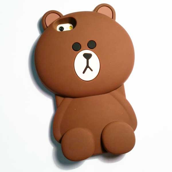 เคสไอโฟน 6/6s เคสหมีบราว