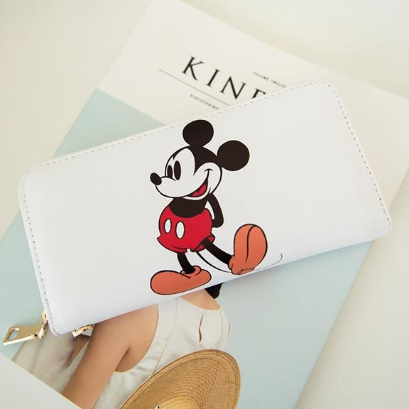 [Preorder] กระเป๋าสตางค์แบบยาว Micky Mouse (Kitty kitty change bag holding wild card Wallet)