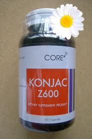 CORE Konjac Z600 50's
