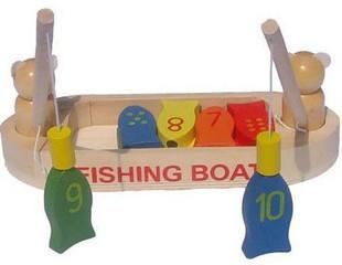 เรือไม้ตกปลา