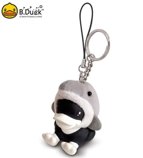 พวงกุญแจ B.Duck ชุดปลาโลมา
