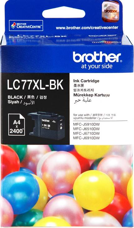 BROTHER INK CARTRIDGE LC-77XLBK สีดำ