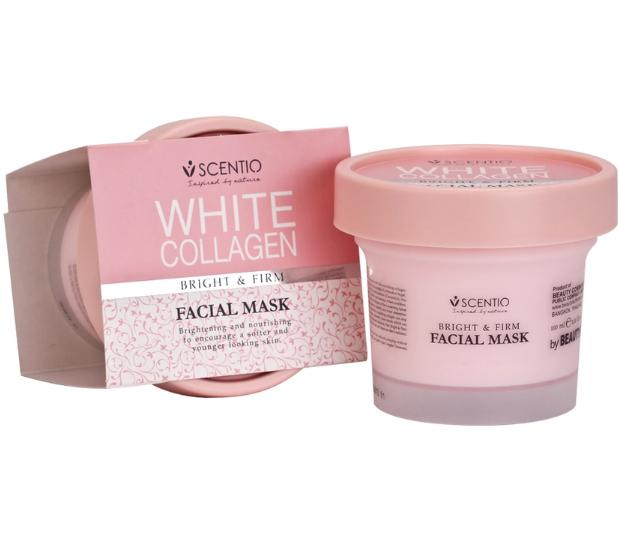 Beauty Buffet มาร์กคอลลาเจน Scentio White Collagen Facial Mask